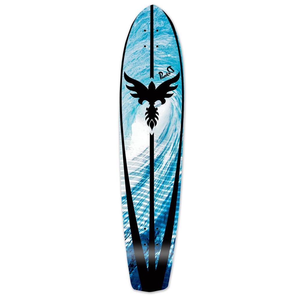 Slimkick Longboard Deck - Tsunami