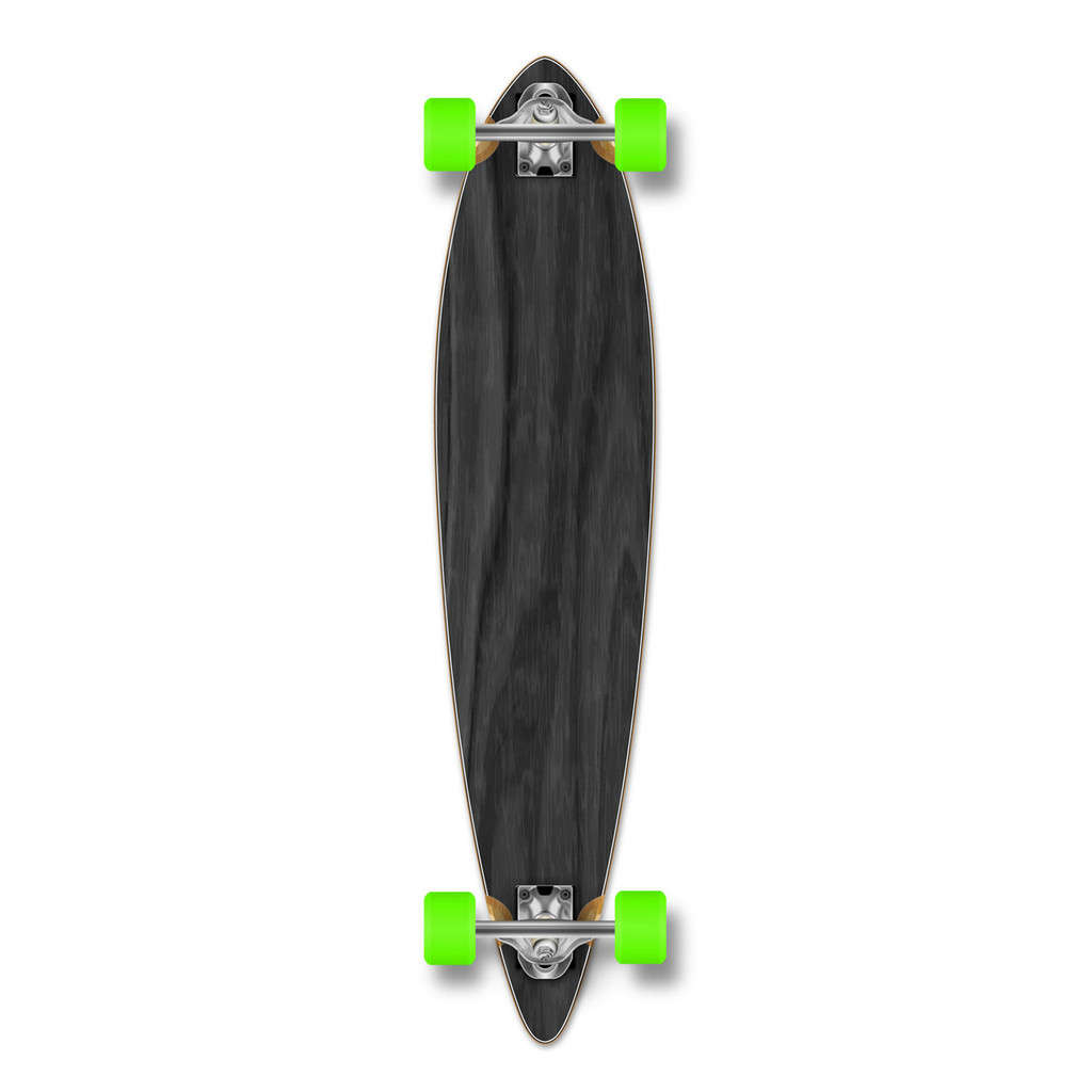Pintail Blank Longboard Complete - Stained Black