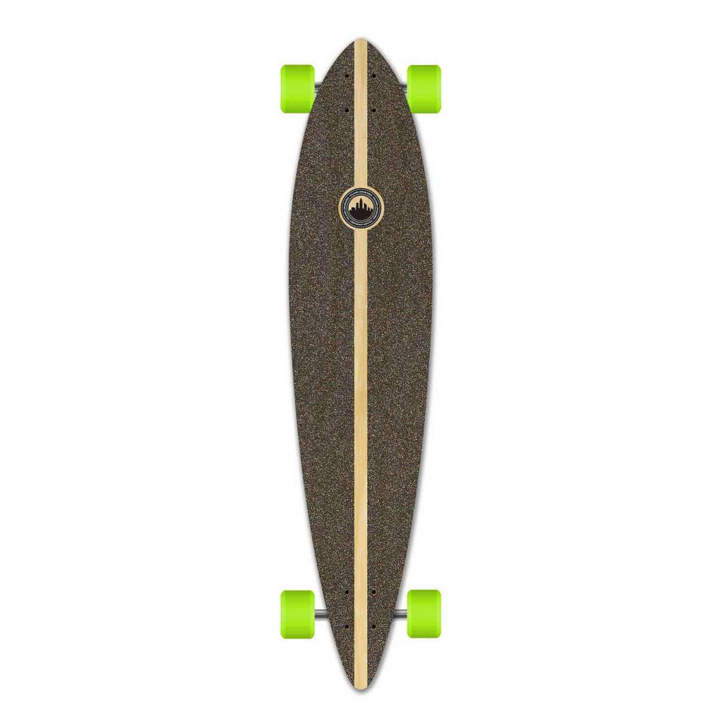 Pintail Blank Longboard Complete - Stained Purple