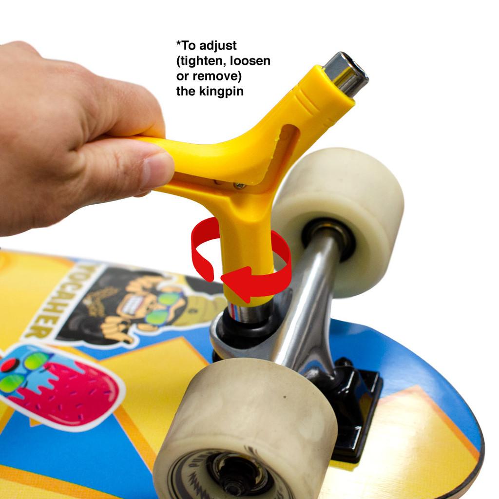 Y-Shaped Skate Tool - Yellow