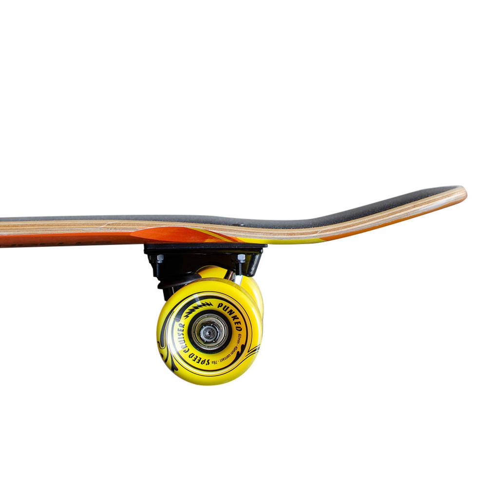 Yocaher Complete Mini Cruiser Skateboard Longboard  - CANDY Series - PB & C