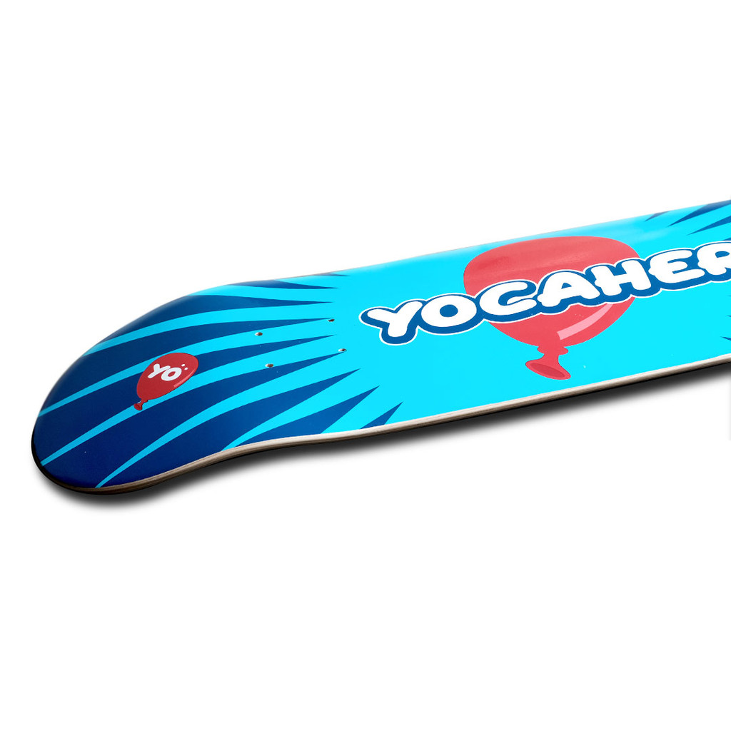 Yocaher Graphic Skateboard Deck  - CANDY Series - Pop