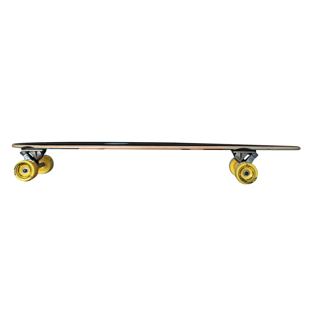 YOCAHER Pintail Longboard Complete - VW Beetle Series - Red