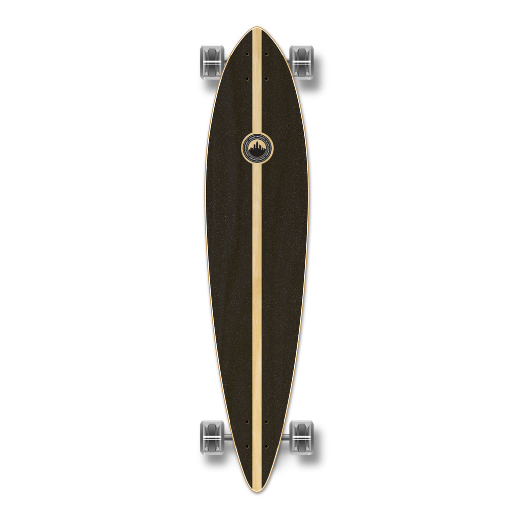 YOCAHER Pintail Longboard Complete - Earth Series - Mountain