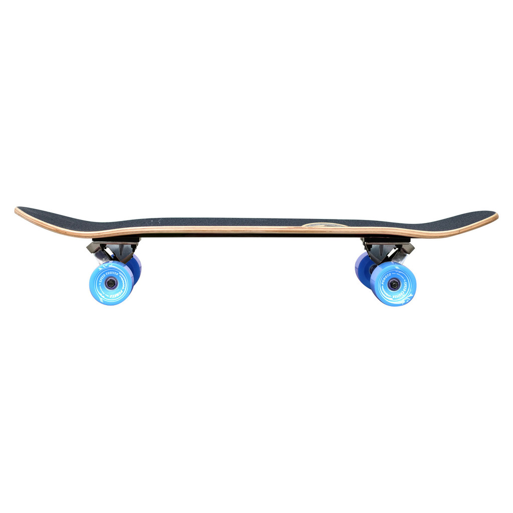 YOCAHER  Old School Longboard Complete - VW Bettle Series - Yellow