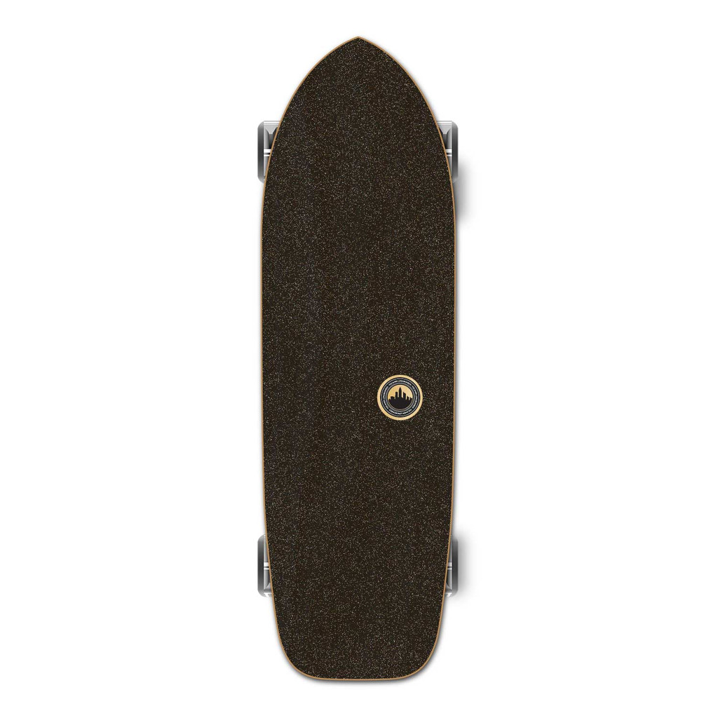 YOCAHER  Old School Longboard Complete - Earth Series - Mountain
