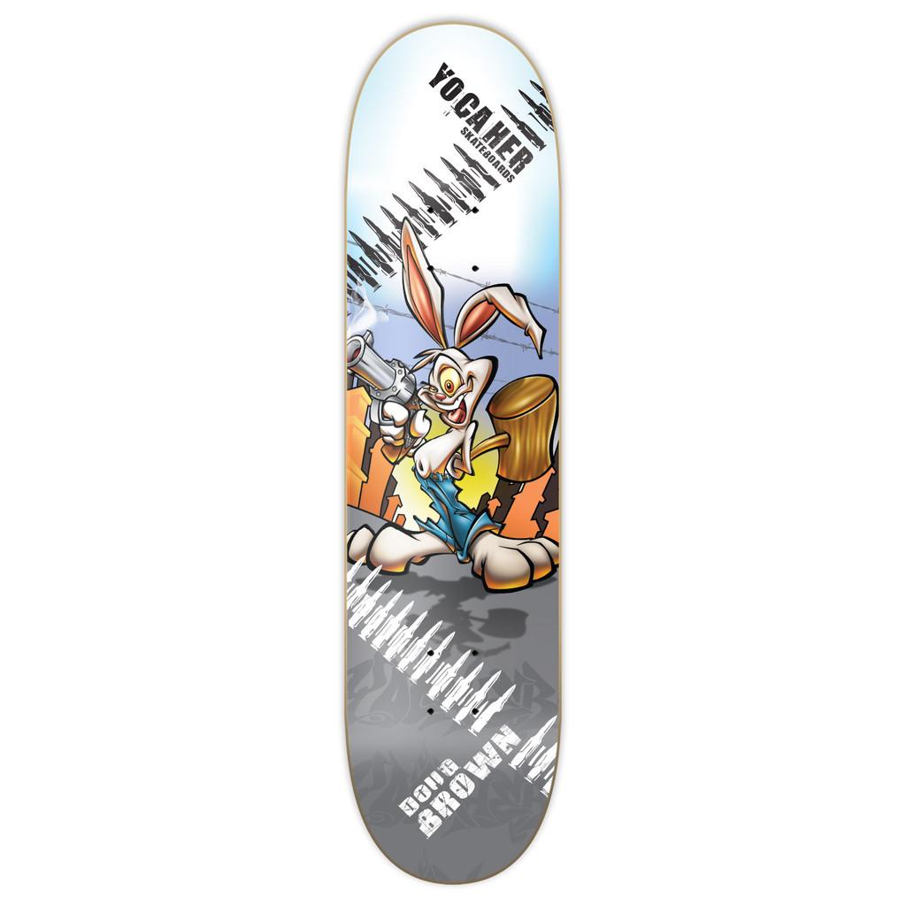 Yocaher Graphic Skateboard Deck  - Radical Rabbit