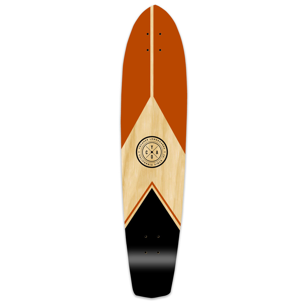 Slimkick Longboard Deck - Mountain