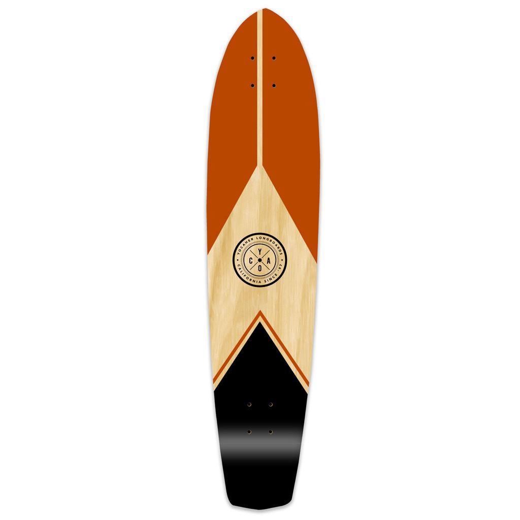 Slimkick Longboard Deck - Mountain