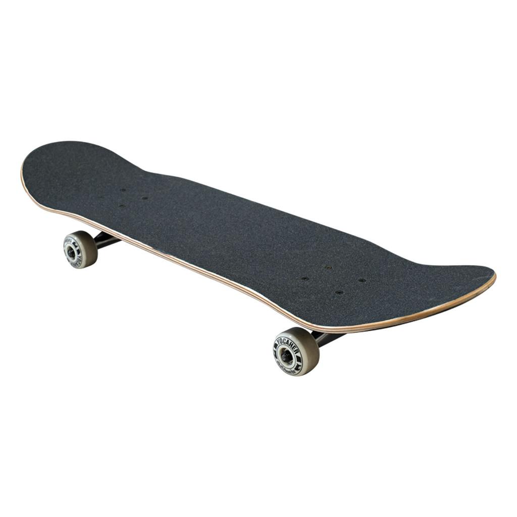 "Yocaher Complete Skateboard 7.75""  - Flaming Tiger"