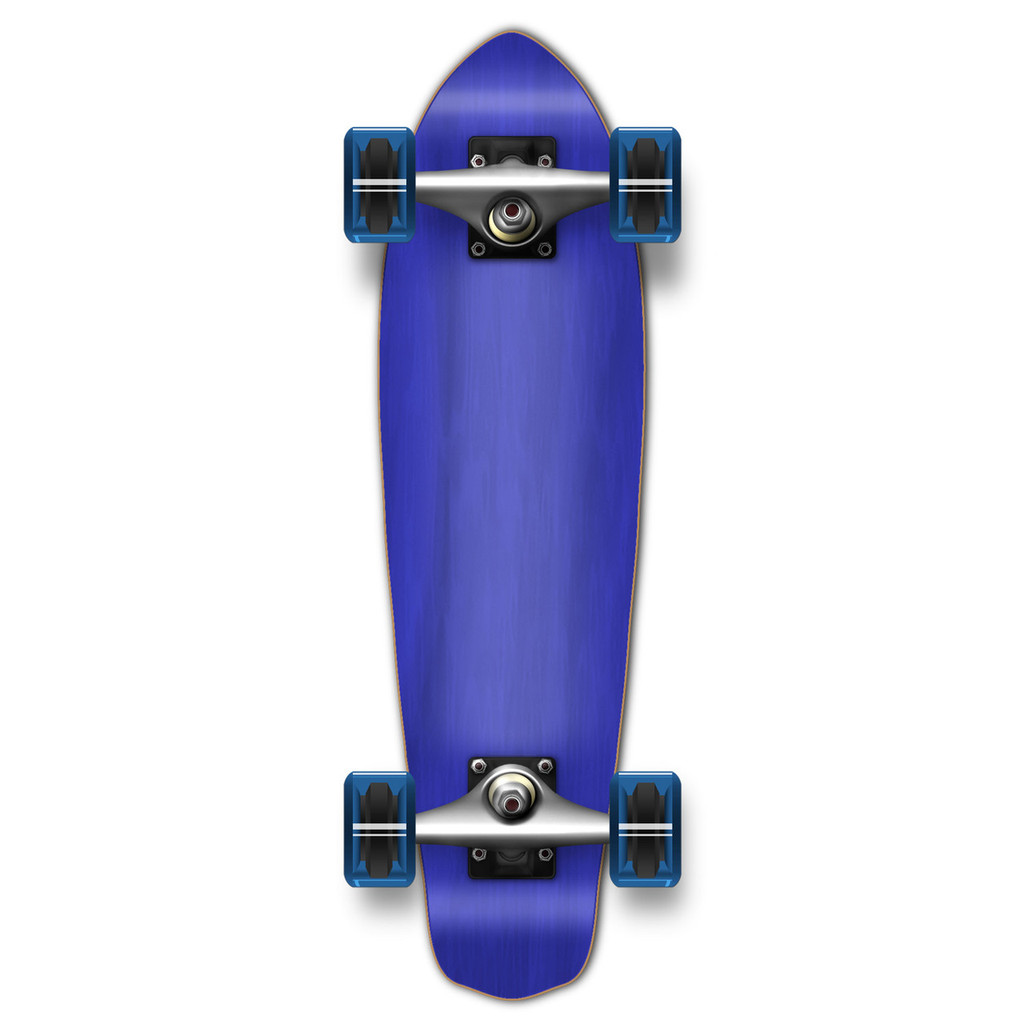 Micro Cruiser Blank Complete - Stained Blue
