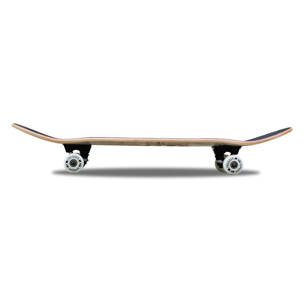 "Yocaher Graphic Complete 7.75"" Skateboard - Tiedye Original"
