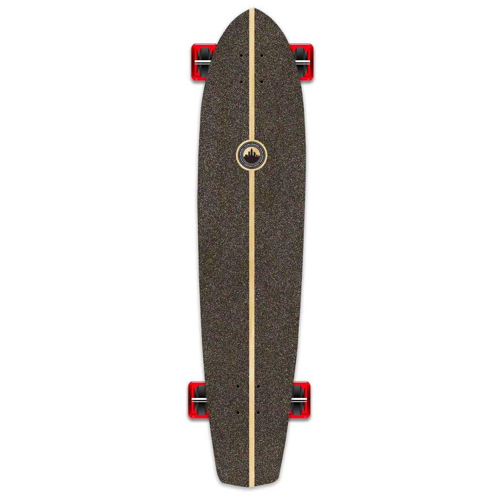 Slimkick Blank Longboard Complete - Natural