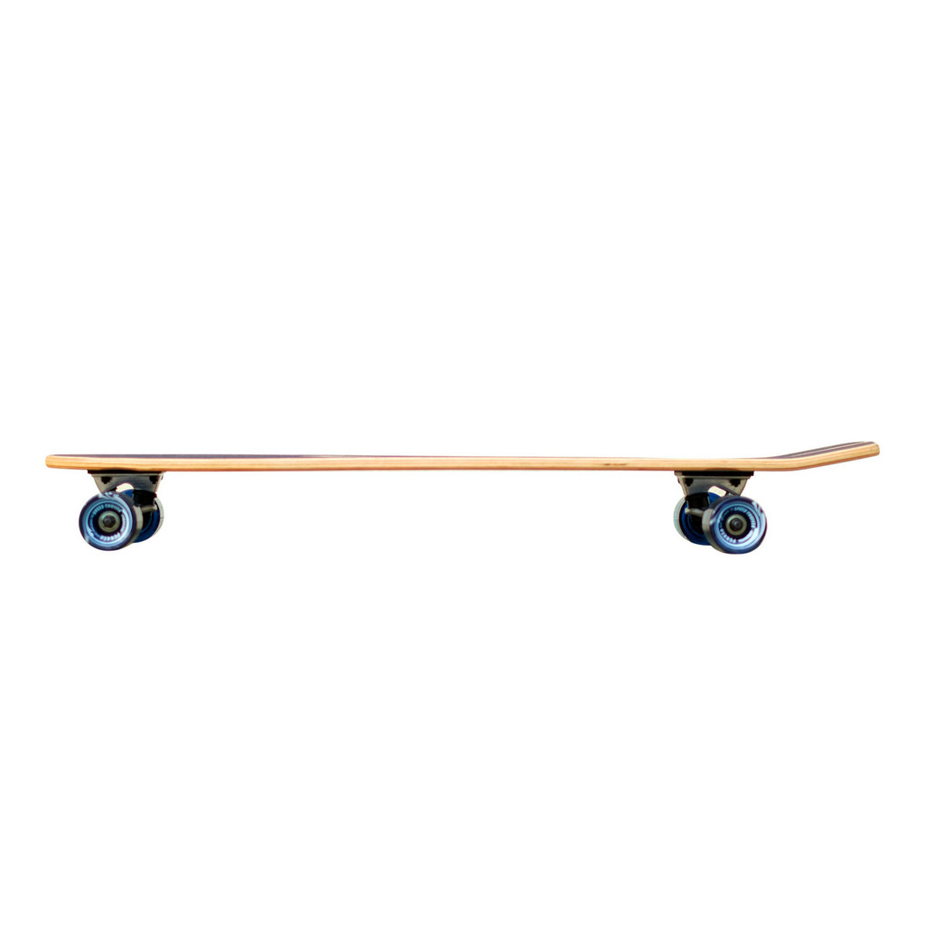 Slimkick Blank Longboard Complete - Stained Blue