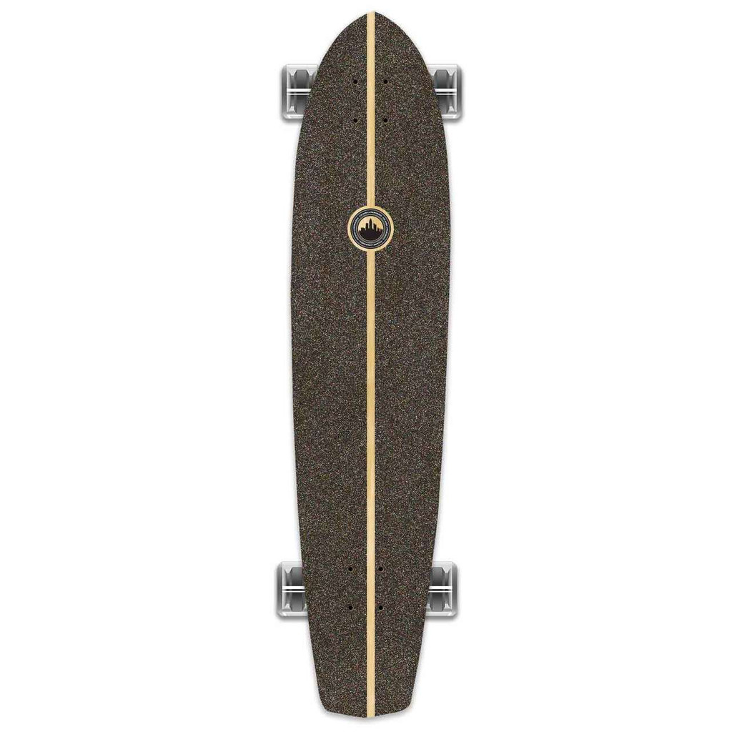 Slimkick Blank Longboard Complete - Stained Red