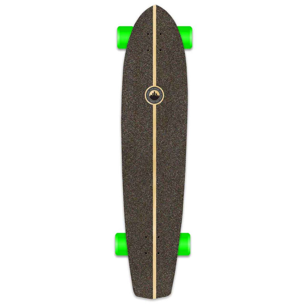 Slimkick Blank Longboard Complete - Stained Purple