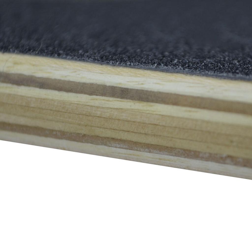 Slimkick Longboard Complete - Black Digital Wave