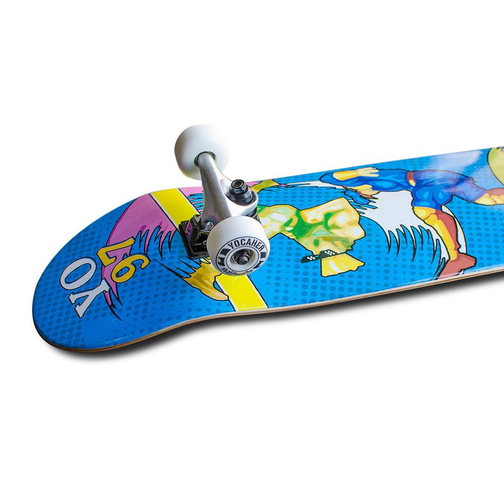 Graphic Complete Skateboard - Retro Series - Bralwer