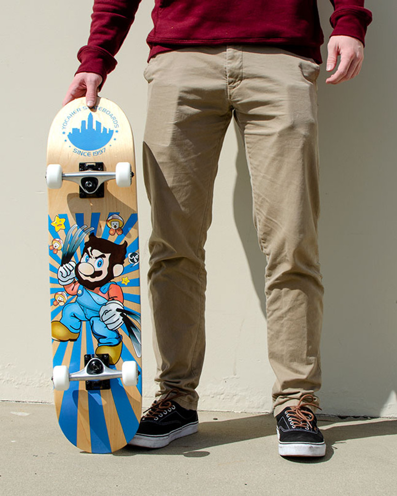 Graphic Complete Skateboard - Retro Series - Snikt