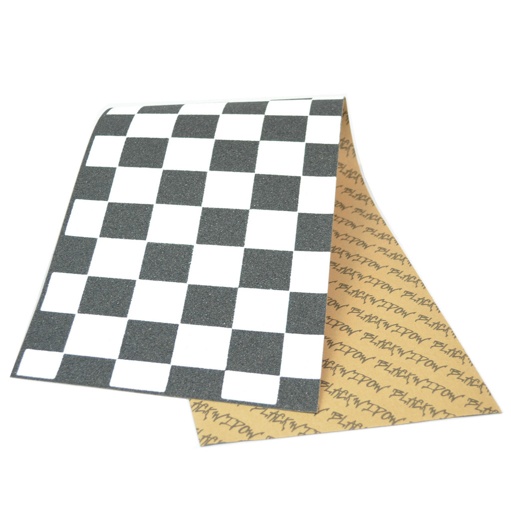 "9"" x 33"" Checkered Skateboard Griptape/Grip Tape 1 sheet"