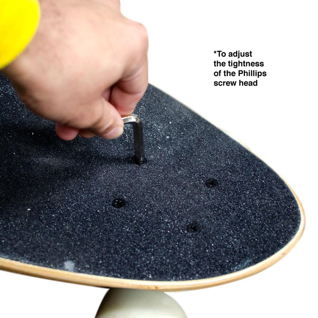 Y-Shaped Skate Tool - White