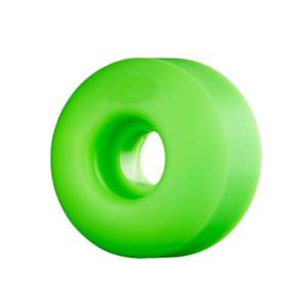 Green BLANK Skateboard WHEELS 52mm (Set of 4)