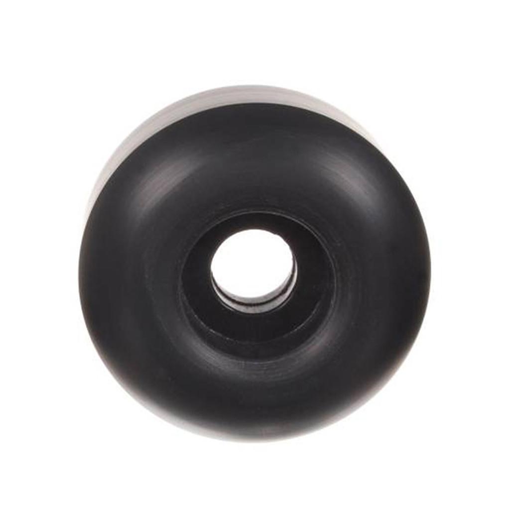 Black BLANK Skateboard WHEELS 50mm (Set of 4)
