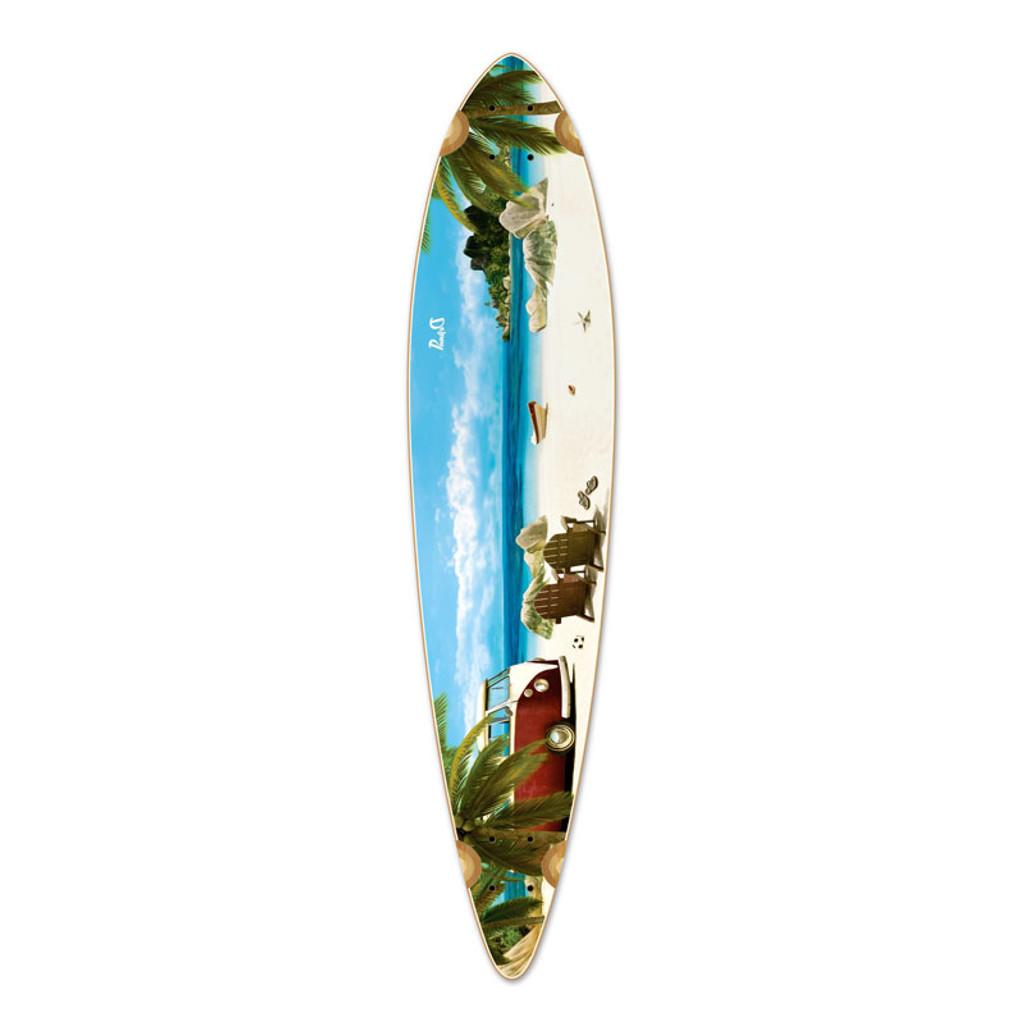 Pintail Getaway Longboard Deck