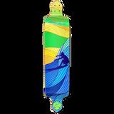 Drop Down Longboard Deck - Surf's up