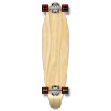 Kicktail Blank Longboard Complete - Natural
