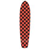Slimkick Longboard Deck - Checker Orange