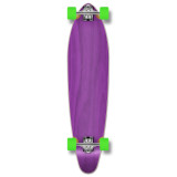 Kicktail Blank Longboard Complete - Stained Purple