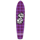 Slimkick Longboard Deck - Dice