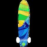 Slimkick Longboard Deck - Surf's up