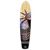 Slimkick Longboard Deck - The Bird Natural