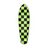 Micro Cruiser  Deck - Checker Green