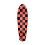 Micro Cruiser  Deck - Checker Orange