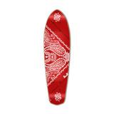 Micro Cruiser  Deck - Bandana Red
