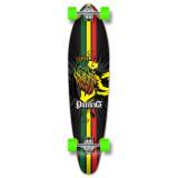 Kicktail Rasta Longboard Complete