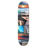 Graphic Seaside Skateboard Deck