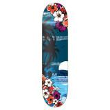 Graphic Tropical Night Skateboard Deck