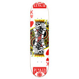 Graphic King of Hearts Skateboard Deck