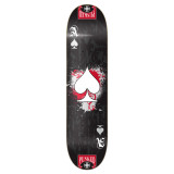 Graphic Ace Black Skateboard Deck