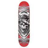 Graphic Skull Hat Skateboard Deck