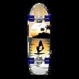 Old School Longboard Complete - Natural Surfer