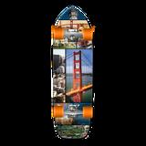 Old School Longboard Complete - San Francisco
