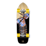 Old School Longboard Complete - The Bird Series Natural