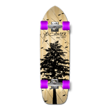 Old School Longboard Complete - In the Pines Natural
