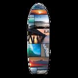 Old School Longboard Deck - Seaside