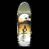 Old School Longboard Deck - Surfer